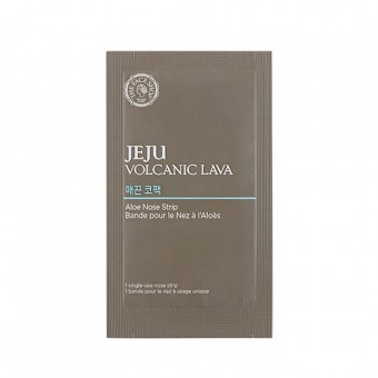 Jeju Volcanic Lava Aloe Nose Strip (1EA)