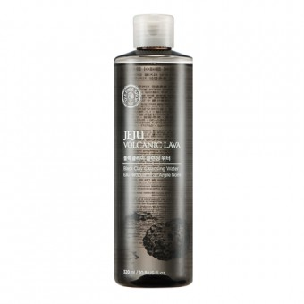 Jeju Volcanic Lava Black Clay Cleansing Water