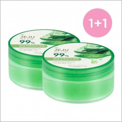 Jeju Aloe Fresh Soothing Gel (Twin pack)
