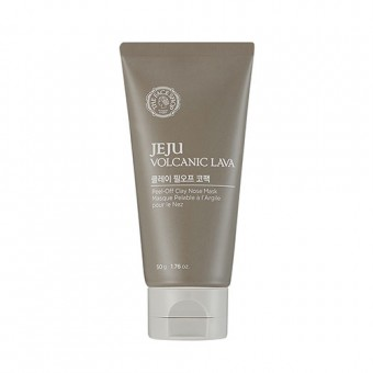 Jeju Volcanic Lava Peel Off Clay Nose Pore Mask