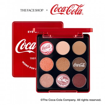Monopop Eyes 01 Coke Red (Coca-Cola)