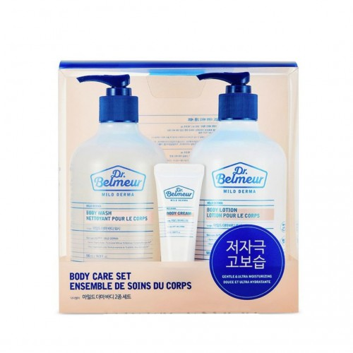 Dr Belmeur Mild Derma Body Care Set