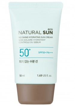 Natural Sun Eco No Shine Hydrating Sun Cream SPF50+ PA+++