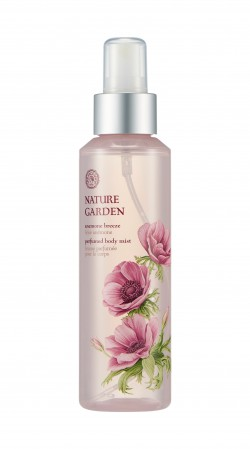 Nature Garden Anemone Breeze Perfumed Body