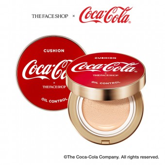 Oil Control Water Cushion V201 (Coca-Cola)