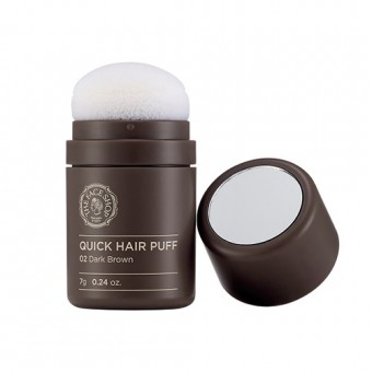 Quick Hair Puff  02 Dark Brown