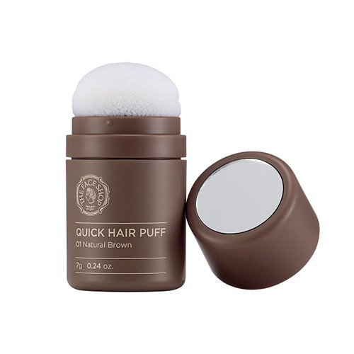 Quick Hair Puff  01 Natural Brown