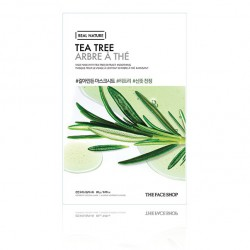 Real Nature Face Mask Snow Tea Tree
