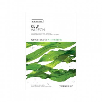 Real Nature Face Mask  Kelp