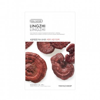 Real Nature Face Mask Lingzhi