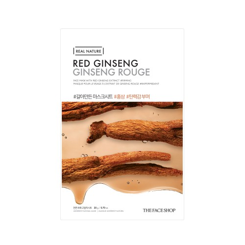 Real Nature Face Red Ginseng