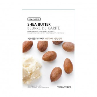 Real Nature Mask Shea Butter