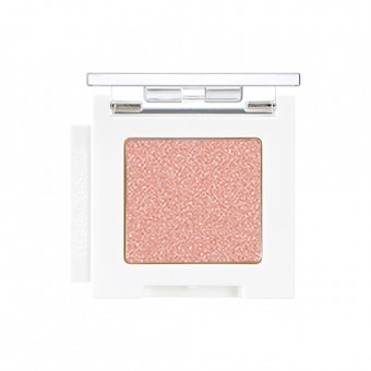 Mono Cube Eyeshadow (Shimmer)  CR01 Breeze Coral