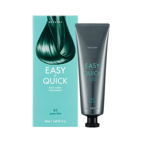 Stylist Easy & Quick Hair Color Treatment 03 Green Blue