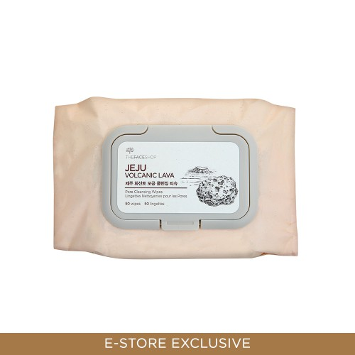 Jeju Volcanic Lava Pore Cleansing Wipes