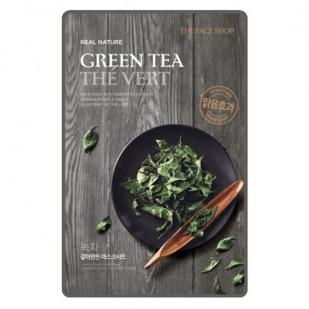 Real Nature Face Mask Green Tea