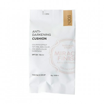 Anti-Darkening Cushion N203  (Miracle Finish) (Refill)