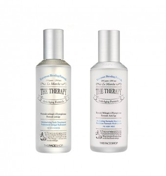 The Therapy Hydrating Toner & Emulsion set