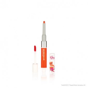 Ink Draw Dual Lip  04 Cheer Up Orange_Troll