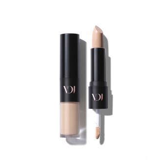 VDIVOV Double Stay Dual Concealer 21N Sand Ivory_expired 130922