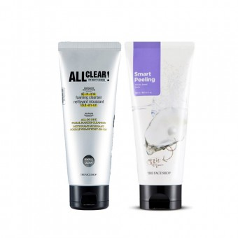 All Clear All In One Foaming Cleanser_Peel Off Mask Set