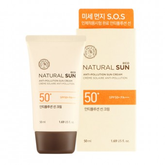 Natural Sun Eco Anti-Pollution Sun Cream SPF50+ PA+++