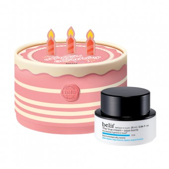 belif The True Cream Aqua Bomb Special Birthday Cake Edition
