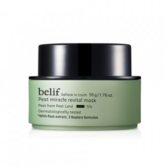 belif Peat Miracle Revital Mask