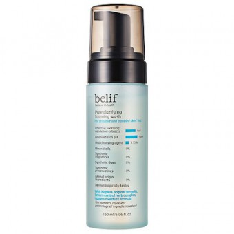 belif Pure Clarifying Bubble Cleansing Foam