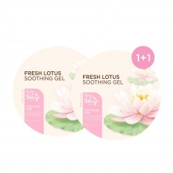 Fresh Jeju Lotus Soothing Gel (Twin Pack)