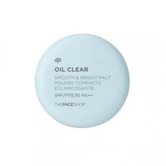 Oil Clear Smooth&Bright Pact SPF 30 PA++ V201