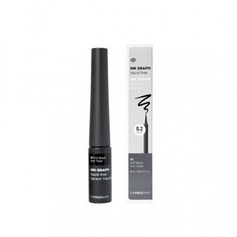 Ink Graffi Liquid Liner 01 Full Black
